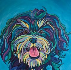 Jack the Havanese by Emily Zimmerman