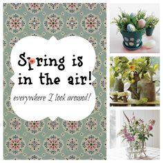 Spring inspiration and diy craft ideas
