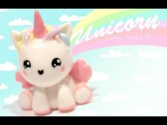 Kawaii Unicorn Tutorial in Polymer Clay or Fimo