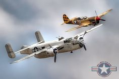 North American B-25 Mitchell Bomber & P-40 Warhawk BFD