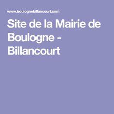 Site de la Mairie de Boulogne - Billancourt