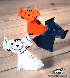 Котешки истории от хартия