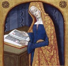 Renaissance Costume, Medieval Costume, Renaissance Art, Medieval Life, Medieval Art, Medieval Manuscript, Illuminated Manuscript, Women In History, Art History