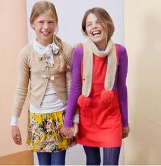 tweens. cute outfits! definitely.