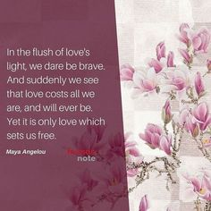 It is only love which sets us free... #MayaAngelou #love http://ift.tt/1L1A3Fr