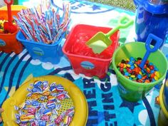 Beach Party Birthday Party Ideas | Photo 9 of 13 | Catch My Party