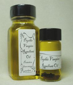 I put this on every day before work!  =D  -- Psychic Vampire Repellant Oil by MagickalMiscellany on Etsy, $7.50