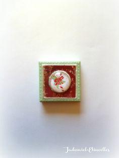 """*NOEL*Mini toile décorative série """" Douce Nuit ... """" n°67 : Accessoires de maison par jademiel-etincelles"""