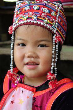 Beautiful girl from Lisu Tribe