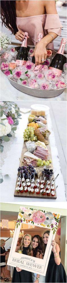Bridal Shower Decoration Ideas #bridalparty #bridalshower #wedding
