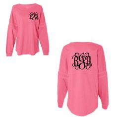 Monogrammed Shirt Monogrammed Longsleeve Monogrammed Jersey Shirt ($35) ❤ liked on Polyvore featuring tops, black, women's clothing, letter shirts, monogrammed long sleeve shirts, jersey shirts, monogrammed shirts and long sleeve shirts
