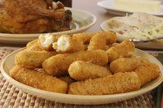 Recette - Croquettes de poulet au fromage   Notée 4.1/5