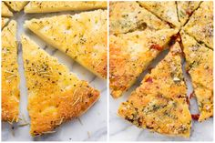 This simple gluten-free focaccia recipe is light, fluffy and easy to make. It can be served plain, or you can have fun with add-in flavors like we do here!