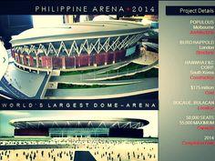 The Philippine Arena for the celebration of Iglesia ni Cristo Centennial Anniversary