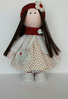 """Muñequita """" Encarnita """" - muñeca tipo gorjuss- russian dolls"""