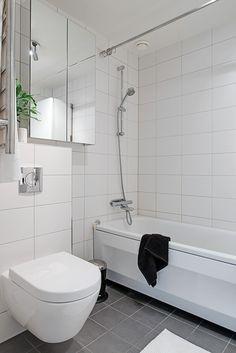 Scandinavian Interior Design, Alcove, Toilet, Bathtub, Bathrooms, Duck Egg Blue, Standing Bath, Flush Toilet, Bathtubs