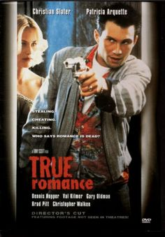 "Box Office Flop turned Cult Classic ""True Romance"" > 1993 > Directed by: Tony Scott > Crime / Crime Thriller / Road Movie / Action"