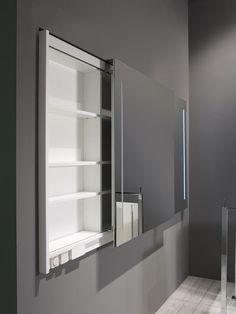 Badkamer spiegelkast symmetrische deuren | Thebalux badkamermeubelen