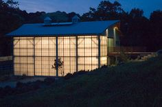 guest house, building reuse, & kal-wall: carver + schicketanz architects