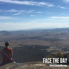 Face the day.  #HelloSundayMorning
