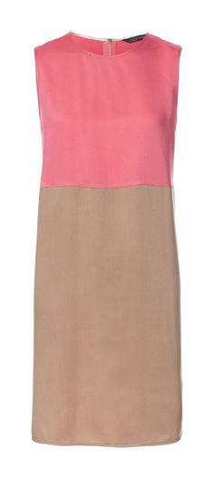 two tone Zara shift dress