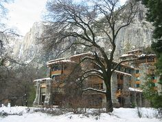 The Ahwahnee Hotel, built in 1925, is the historical hotel of Yosemite National Park. The hotel is listed as #26 of Americas Favorite Architecture.