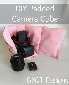 DIY Padded Camera Cube