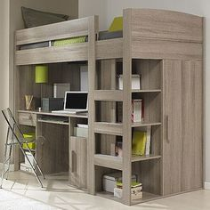 Advice, tricks, plus guide with regards to getting the greatest result and also ensuring the optimum utilization of bunk bed plans Cute Bedroom Ideas, Girl Bedroom Designs, Room Ideas Bedroom, Small Room Bedroom, Bedroom Loft, Bedroom Decor, Bed Designs, Small Room Design, Home Room Design