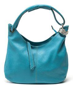 Look at this #zulilyfind! Ottanio Pebbled Leather Hobo by Carla Ferreri #zulilyfinds
