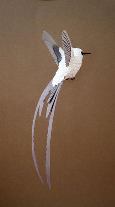 Aves arte.Maravillosas Aves De Papel De Zack Mclaughlin's
