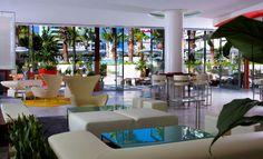 Lobby of La Concha Resort in Puerto Rico.