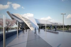 Napoli Afragola Station (Phase One) | Architect Magazine | Zaha Hadid Architects, Italy, Transportation, Retail, Hospitality, New Construction, Transfer Stations, Transportation Projects