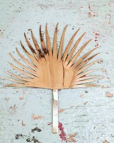 Image of Feuille de palme en laiton