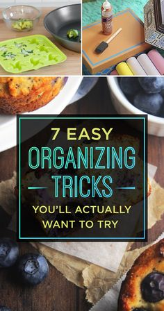 If you've got 15 minutes: Try an easy organising tip. | 7 Small Changes To Try Out This Week