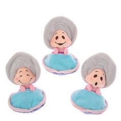 Oyster-baby dolls from Disney's Alice in Wonderland, in the Walrus and the Carpenter scene. These are available at Disney World in Japan, and apparently nowhere else. Bummer for impulse shoppers everywhere except D-World Japan!