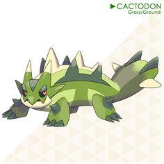 194: Cactodon by LuisBrain.deviantart.com on @DeviantArt