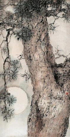 iamjapanese:  Yang Shan Shen(杨善深 Chinese, 1913-2004) via