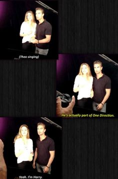 Shailene Woodley and Theo James everyone ~Divergent~ ~Insurgent~ ~Allegiant~