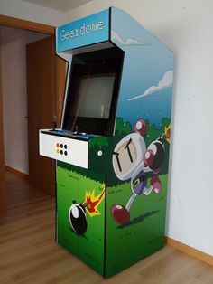 Building an Arcade Cabinet from scratch --> http://www.ignaciosanchezgines.com/projects/arcade-cabinet/