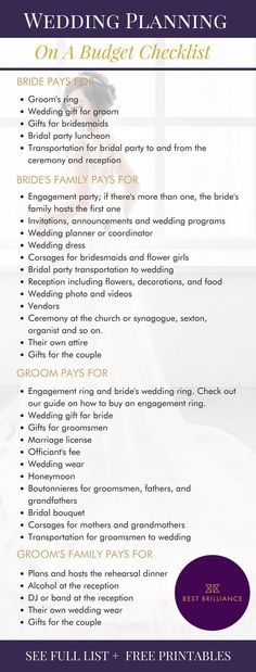 The Ultimate Wedding Planning Printable to Keep You On Track | It can be an uncomfortable conversation, but it's better to get it out of the way now. Here are ideas for wedding cost-splitting basics for you and your families. But hear us out: no one is required to follow these rules — it all depends on your own situation. | Wedding Planning Tips + Ideas + Articles + Guide + Timeline + Printables + Binder