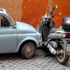 Rome, Italy / Italians are masters in parking.