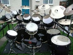 Drum kit More