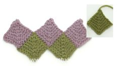 In this DROPS video we show how you can knit a domino square. Make several for your starting row. Then pick up sts along sides of two squares and work another… Drops Design, Knitting Projects, Knitting Patterns, Crochet Patterns, Free Crochet, Knit Crochet, Drops Alpaca, Alpacas, Knitted Blankets