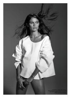 Victoria's Secret Angel Sara Sampaio graces the spring-summer 2017 cover of Editorialist Magazine. Photographed by Gilles Bensimon, the Portuguese stunner gets her closeup in the black and white image. In the following spread, Sara poses in minimal looks from the spring collections styled by Kate Davidson Hudson. The brunette poses in the designs of Michael …