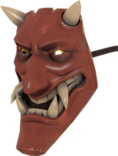 the noh mercy oni mask for the spy in tf2 - Tf2 Halloween Masks