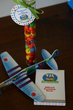 Flight Academy + Airplane Birthday Party