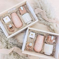 Boho Themed! These #bridesmaidproposal boxes are all the feels right now and we are here to help, brides // give me all the peachy tones and pampas grass. So cute to give your girls! Be My Bridesmaid, Bridesmaids, Brides Maid Proposal, Boxes And Bows, All The Feels, Your Girl, Give It To Me, Pampas Grass, Boho