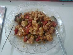 DIY sweet and sour chicken
