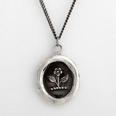Pyrrha Beauty and Strength Talisman Necklace - Jenny Longhorn