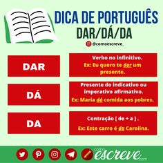 Portuguese Grammar, Canal E, Student Life, Study, Writing, Tips, Books, Essay Tips, Reading Tips